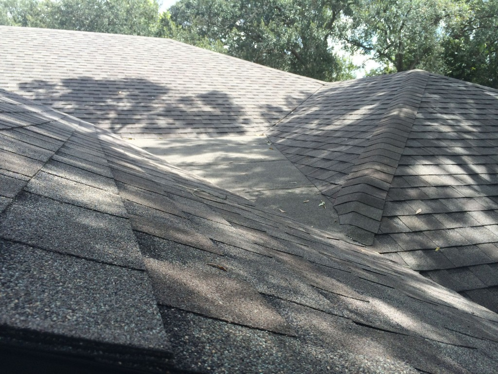 how to fix a dead valley roof